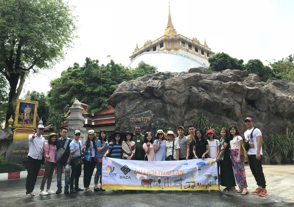 Baza – Chuyến du lịch Thái Lan 2018
