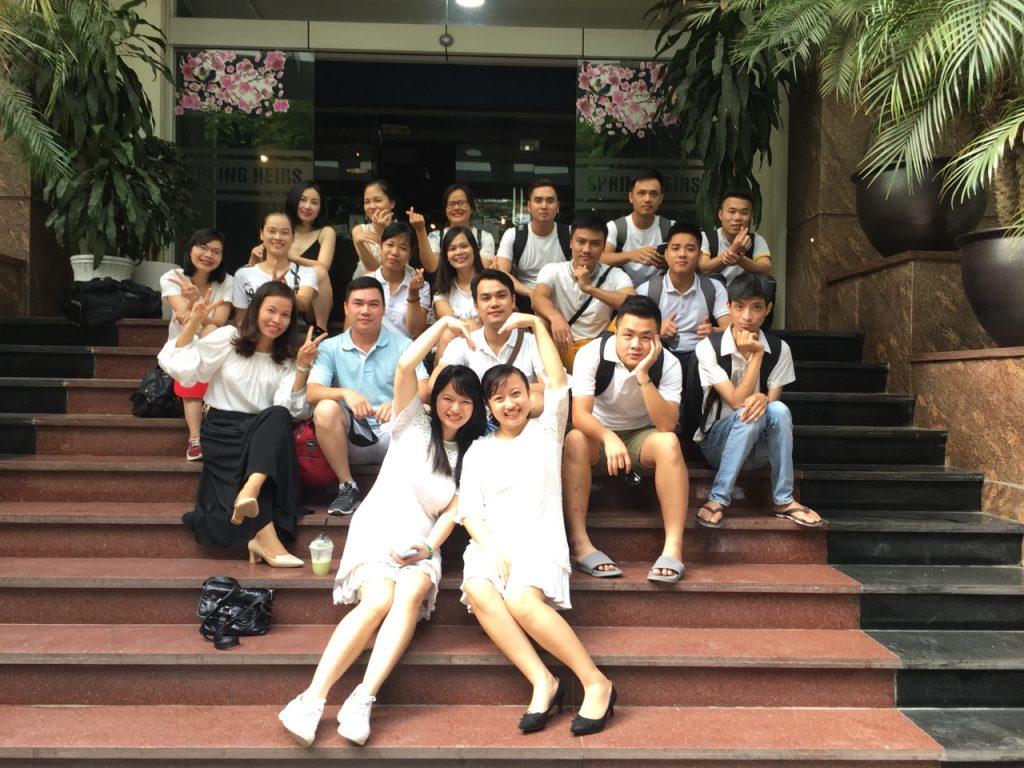 Cùng Baza tận hưởng chuyến team building Tháng 8/2018